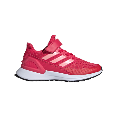 ADIDAS GIRLS PRE-SCHOOL RAPIDARUN FOUNDATION KIDS SHOE PINK/PINK/BLACK