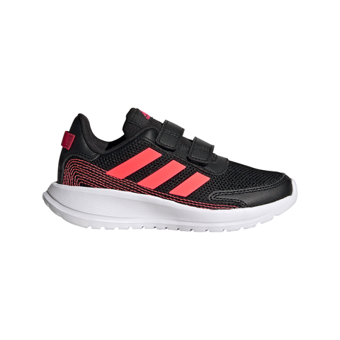 ADIDAS GIRLS PRE-SCHOOL TENSAUR RUN V KIDS SHOE BLACK/SIGNAL PINK/POWER PINK