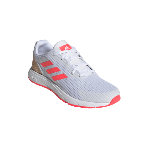 ADIDAS WOMEN'S SOORAJ RUNNING SHOE WHITE/COPPER METALLIC/SIGNAL PINK