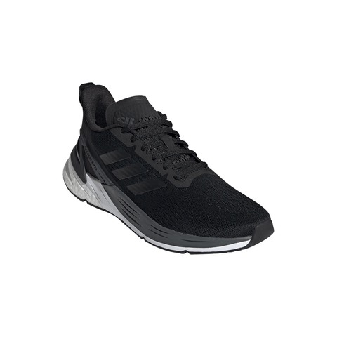 ADIDAS WOMEN'S RESPONSE SUPER BOOST RUNNING SHOE BLACK/BLACK/GREY