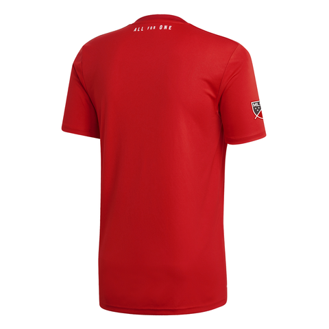 ADIDAS MEN'S TFC PRIMARY REPLICA JERSEY RED