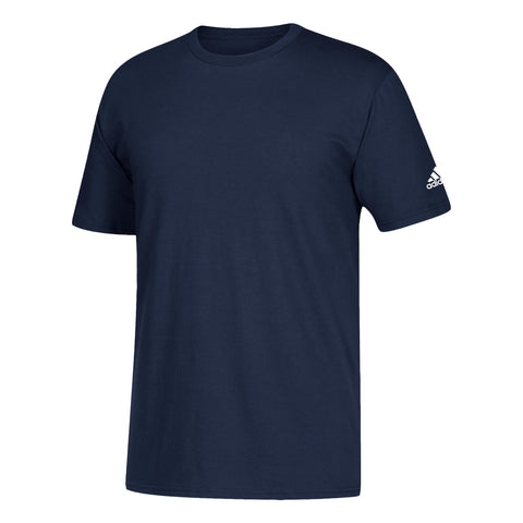 ADIDAS MEN'S GO TO TEE SHORT SLEEVE TOP NAVY