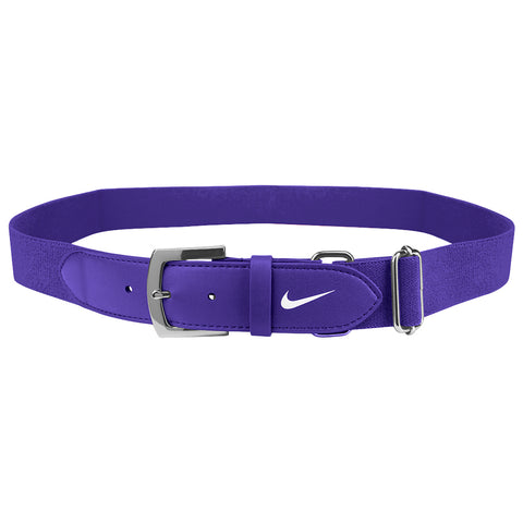 NIKE ADULT PURPLE BASEBALL BELT 2.0 28 INCH - 43 INCH
