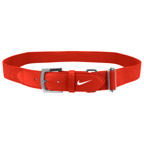 NIKE ADULT ORANGE BASEBALL BELT 2.0 28 INCH - 43 INCH