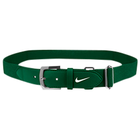 NIKE ADULT GREEN BASEBALL BELT 2.0 28 INCH - 43 INCH