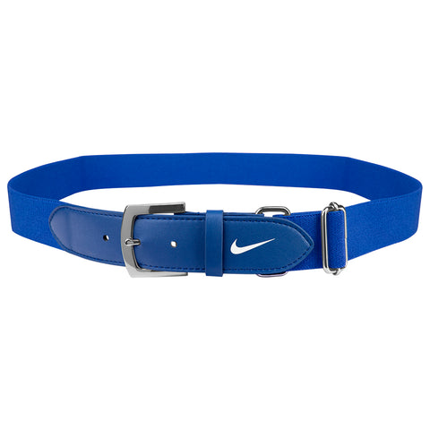 NIKE YOUTH ROYAL BASEBALL BELT 2.0 20 INCH - 34 INCH