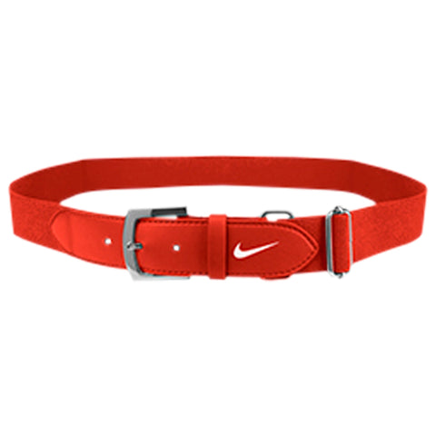 NIKE YOUTH ORANGE BASEBALL BELT 2.0 20 INCH - 34 INCH