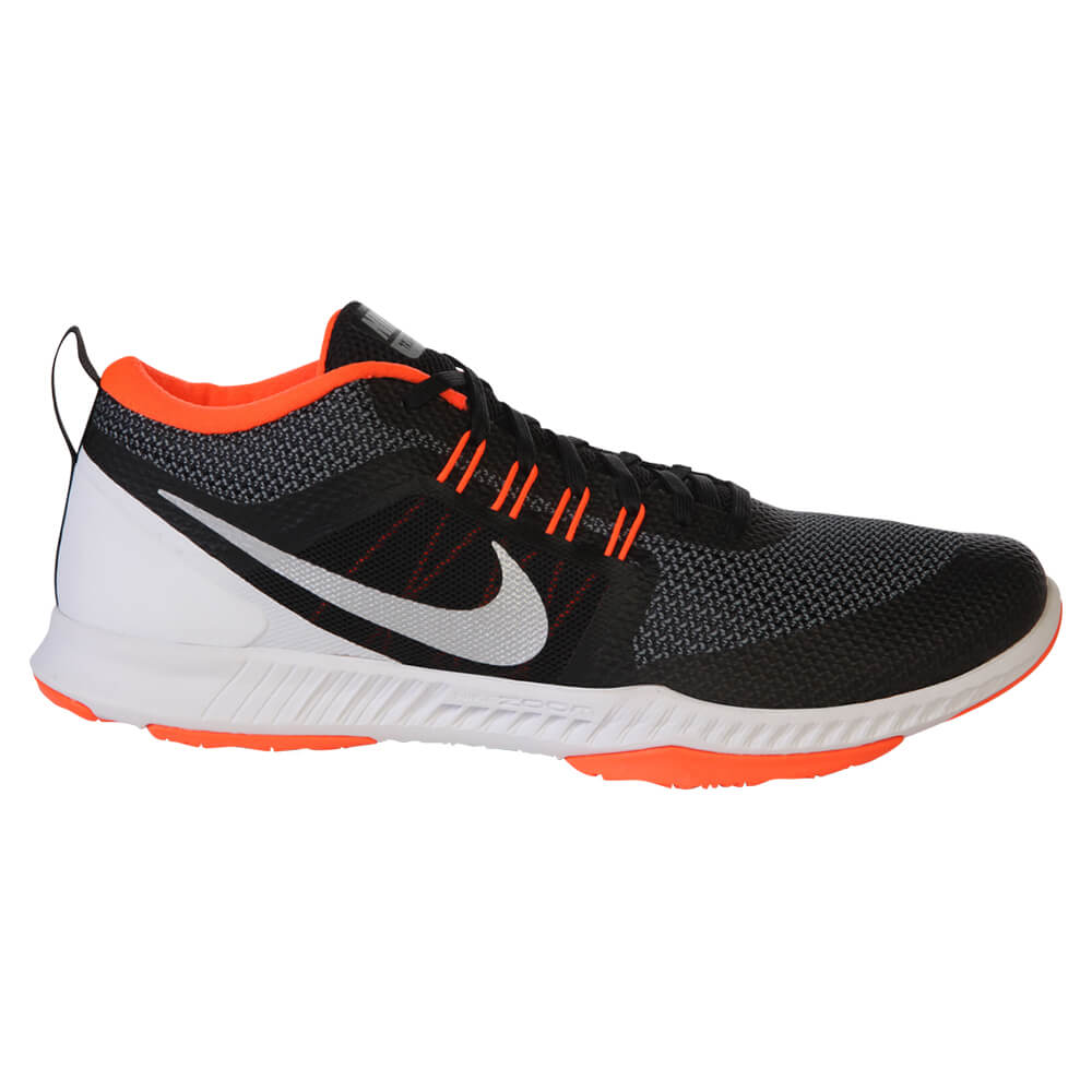 298111f5f NIKE MEN'S ZOOM DOMINATION TR TRAINING SHOE BLACK/SILVER/GREY ...