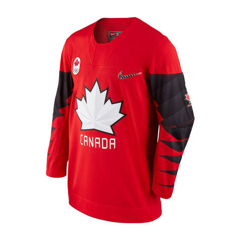 NIKE MEN'S TEAM CANADA OLYMPIC JERSEY RED