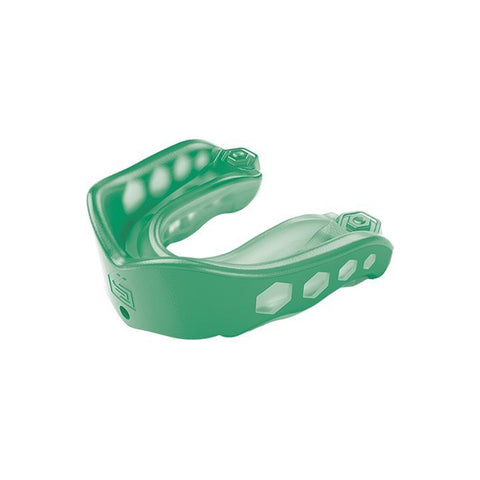 SHOCK DOCTOR YOUTH GEL MAX GREEN CONVERTIBLE MOUTHGUARD