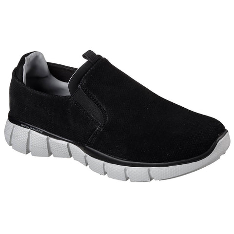 SKECHERS MEN'S LODINI LIFESTYLE SHOE BLACK/GREY