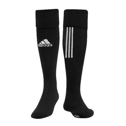 ADIDAS SANTOS 18 BLACK MEDIUM SOCCER SOCK (7-8.5)