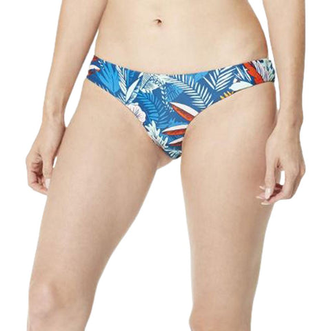 SPEEDO WOMEN'S PRINT PIPER HIPSTER BLUE/ORANGE