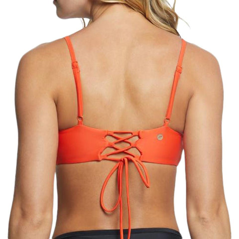 SPEEDO WOMEN'S SQUARE NECK TOP PERSIMMON