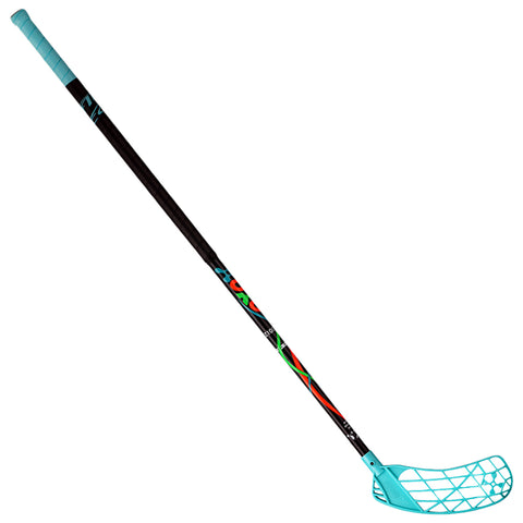 ACCUFLI XORO Z100 FLOORBALL STICK RIGHT TEAL