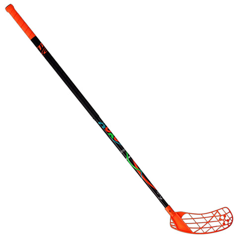 ACCUFLI XORO Z100 FLOORBALL STICK RIGHT ORANGE