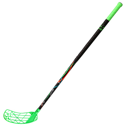 ACCUFLI XORO Z80 FLOORBALL STICK LEFT GREEN