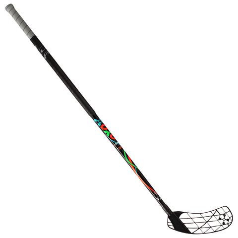 ACCUFLI XORO Z80 FLOORBALL STICK RIGHT BLACK