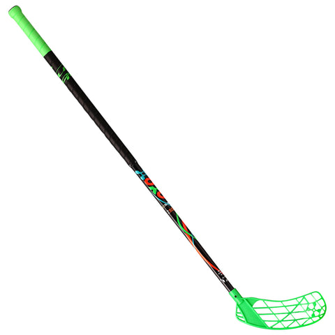 ACCUFLI XORO Z80 FLOORBALL STICK RIGHT GREEN