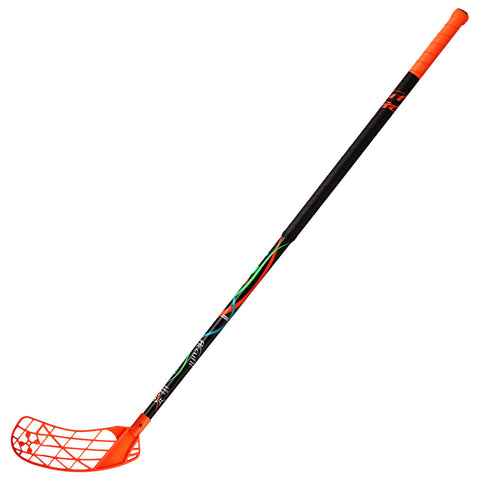 ACCUFLI XORO Z90 FLOORBALL STICK LEFT ORANGE