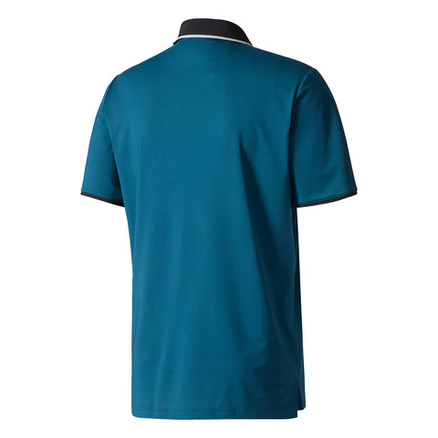 ADIDAS MEN'S CLIMACOOL PERFORMANCE POLO PETROL NIGHT