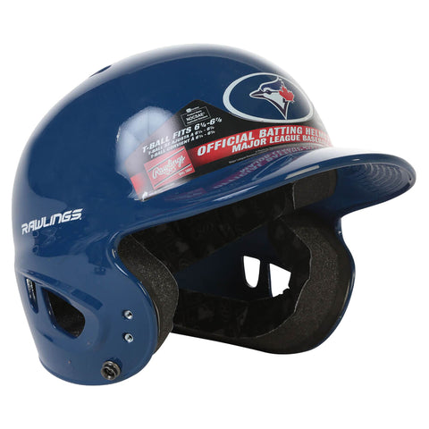 SLIGHTLY SCUFFED - TORONTO BLUE JAYS T-BALL BATTING HELMET