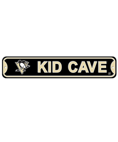 BULLETIN ATHLETIC PITTSBURGH PENGUINS KIDS CAVE SIGN