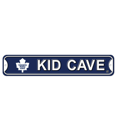 BULLETIN ATHLETIC TORONTO MAPLE LEAFS KIDS CAVE SIGN