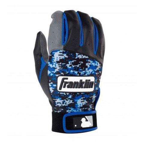 FRANKLIN YOUTH BATTING GLOVE DIGITEK ROYAL DIGITAL