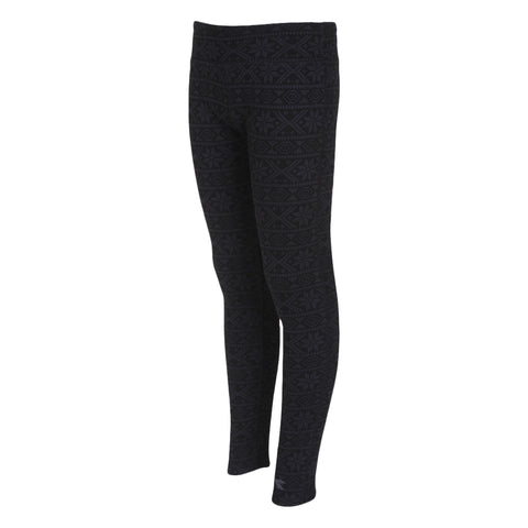 DIADORA GIRLS'' HUG ME LEGGING BLACK/PERISCOPE