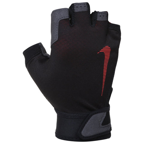 NIKE MEN'S ULTIMATE FITNESS GLOVE BLACK/CRIMSON