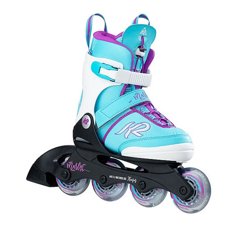 K2 MARLEE PRO GIRLS' ADJUSTABLE INLINE SKATES SIZES 1-5