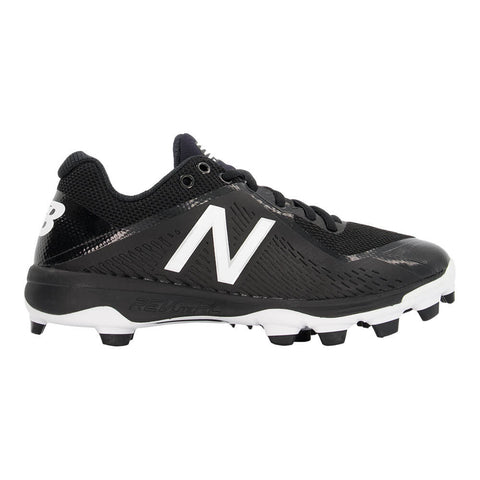 NEW BALANCE MEN'S 4040 TPU WIDTH 2E BASEBALL CLEAT BLACK/WHITE