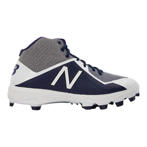NEW BALANCE MEN'S 4040 TPU WIDTH 2E BASEBALL CLEAT NAVY/WHITE
