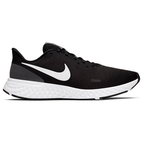 NIKE MEN'S REVOLUTION 5 RUNNING SHOE BLACK/WHITE/ANTHRACITE