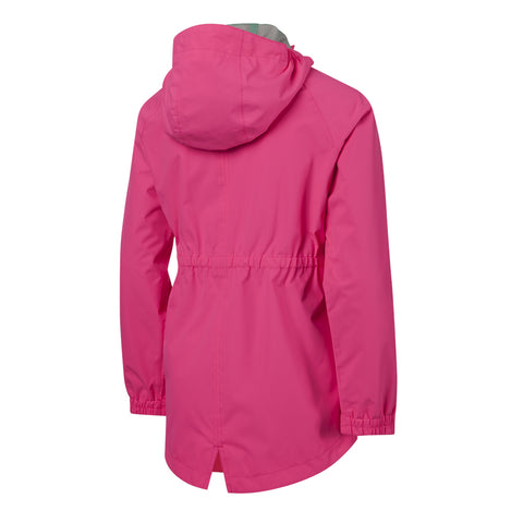 MCKINLEY GIRLS' PAIGE RAIN JACKET KNOCK PINK