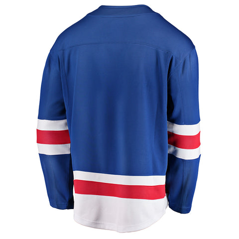 FANATICS MEN'S NEW YORK RANGERS HOME JERSEY BLUE