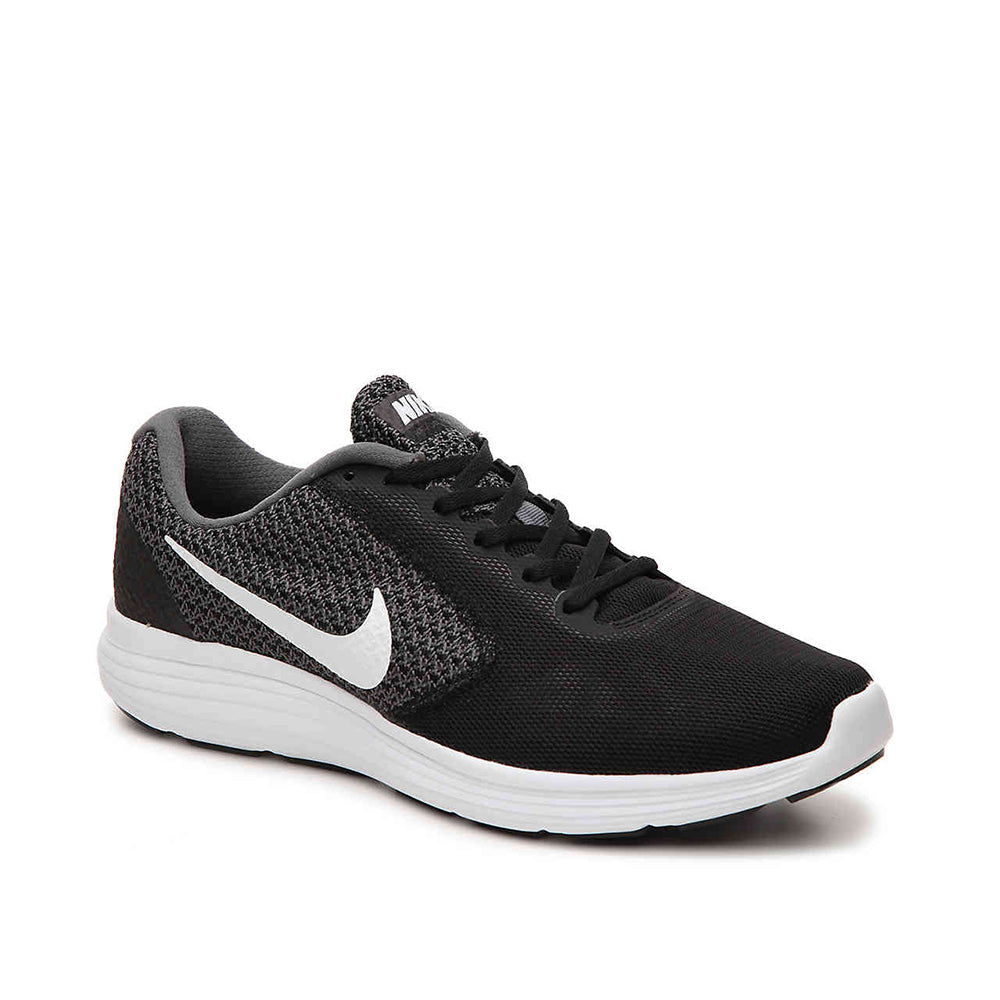 Nike Dark Running Shoe Revolution Greywhiteblack Men's 3 2IEHD9