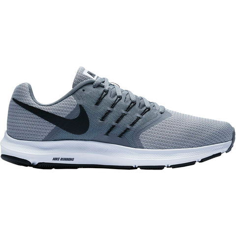 f6beed57e08 NIKE MEN S RUN SWIFT RUNNING SHOE GUNSMOKE BLACK WHITE