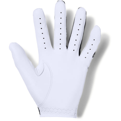 UNDER ARMOUR COOLSWITCH MEN'S GOLF GLOVE RIGHT WHITE/BLACK/BLACK