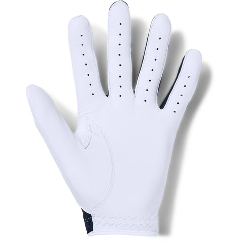 UNDER ARMOUR COOLSWITCH MEN'S GOLF GLOVE RIGHT WHITE/NAVY