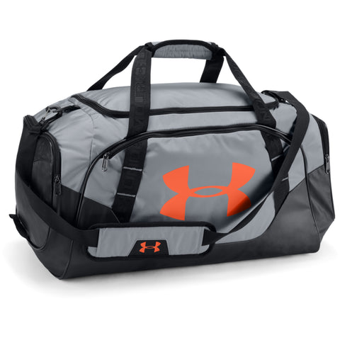 UNDER ARMOUR UNDENIABLE DUFFLE 3.0 MD  STL/MAGMA ORG