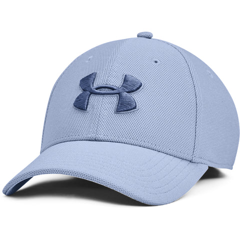 UNDER ARMOUR MEN'S HEATHERED BLITZING 3.0 CAP WASHED BLUE/IMPERIAL