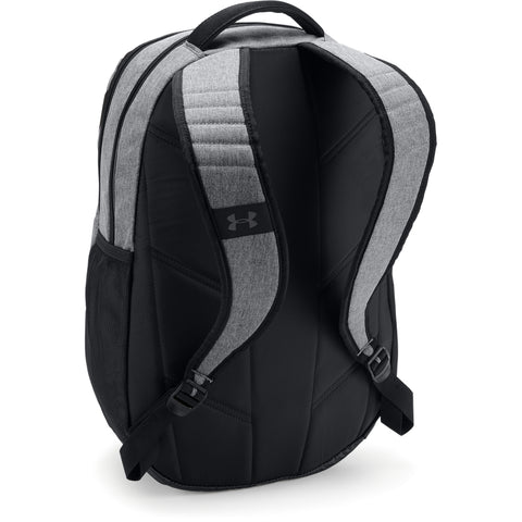 UNDER ARMOUR TEAM HUSTLE 3.0 BACKPACK GRAPHITE MEDIUM HEATHER