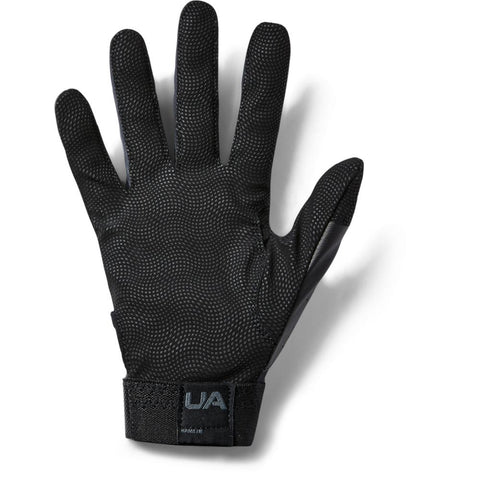 UNDER ARMOUR 2019 CLEAN-UP BLACK BATTING GLOVE