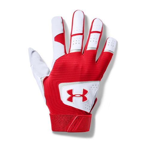 UNDER ARMOUR 2019 CLEAN-UP RED BATTING GLOVE