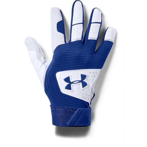 UNDER ARMOUR 2019 YOUTH CLEAN-UP ROYAL BATTING GLOVE