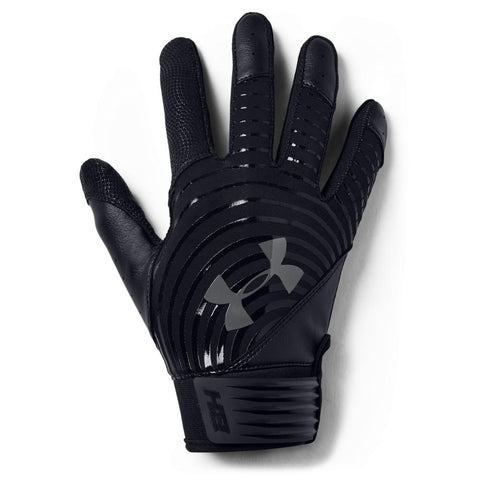 UNDER ARMOUR 2019 YOUTH HARPER HUSTLE BLACK BATTING GLOVE