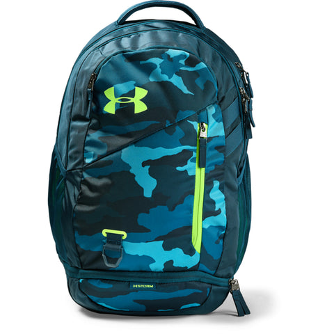 UNDER ARMOUR HUSTLE 4.0 BACKPACK TEAL VIBE/TEAL