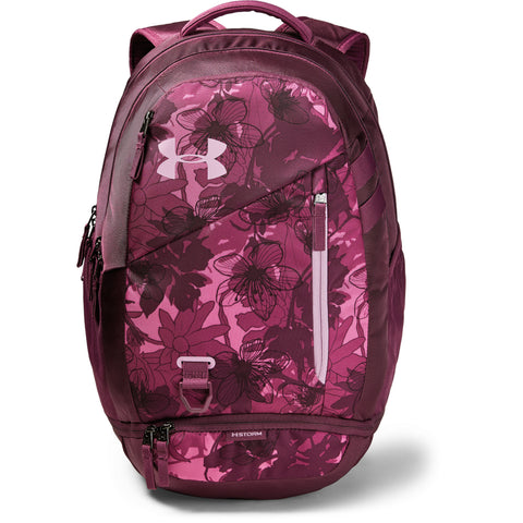 UNDER ARMOUR HUSTLE 4.0 BACKPACK PACE PINK/PRPL